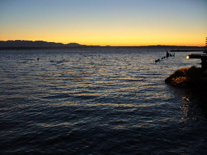 Shilshole Bay Sunset (by Dan Keusal)